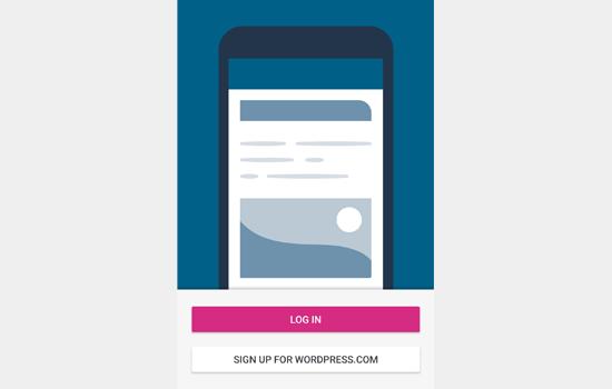 Masuk ke akun WordPress.com Anda